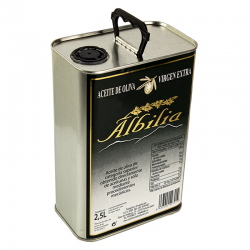 Aceite de Oliva Virgen Extra lata 2,5 litros caja de 6 unidades...